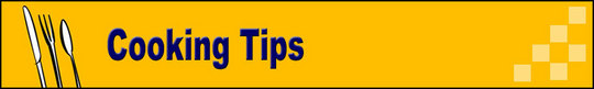 Thumbnail Cooking Tips  Adsense Web Pages