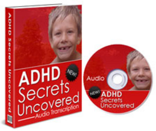 Product picture ADHD Secrets Uncovered.