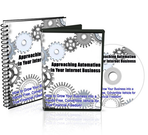 Product picture Automation In Your Internet Business