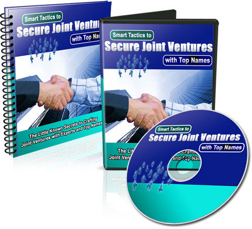 Product picture Smart Tactics To Secure Joint Ventures