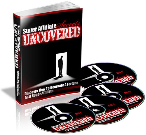 Product picture Super Affiliate Secrets Uncovered